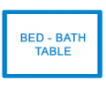Bed-Table- Bathroom